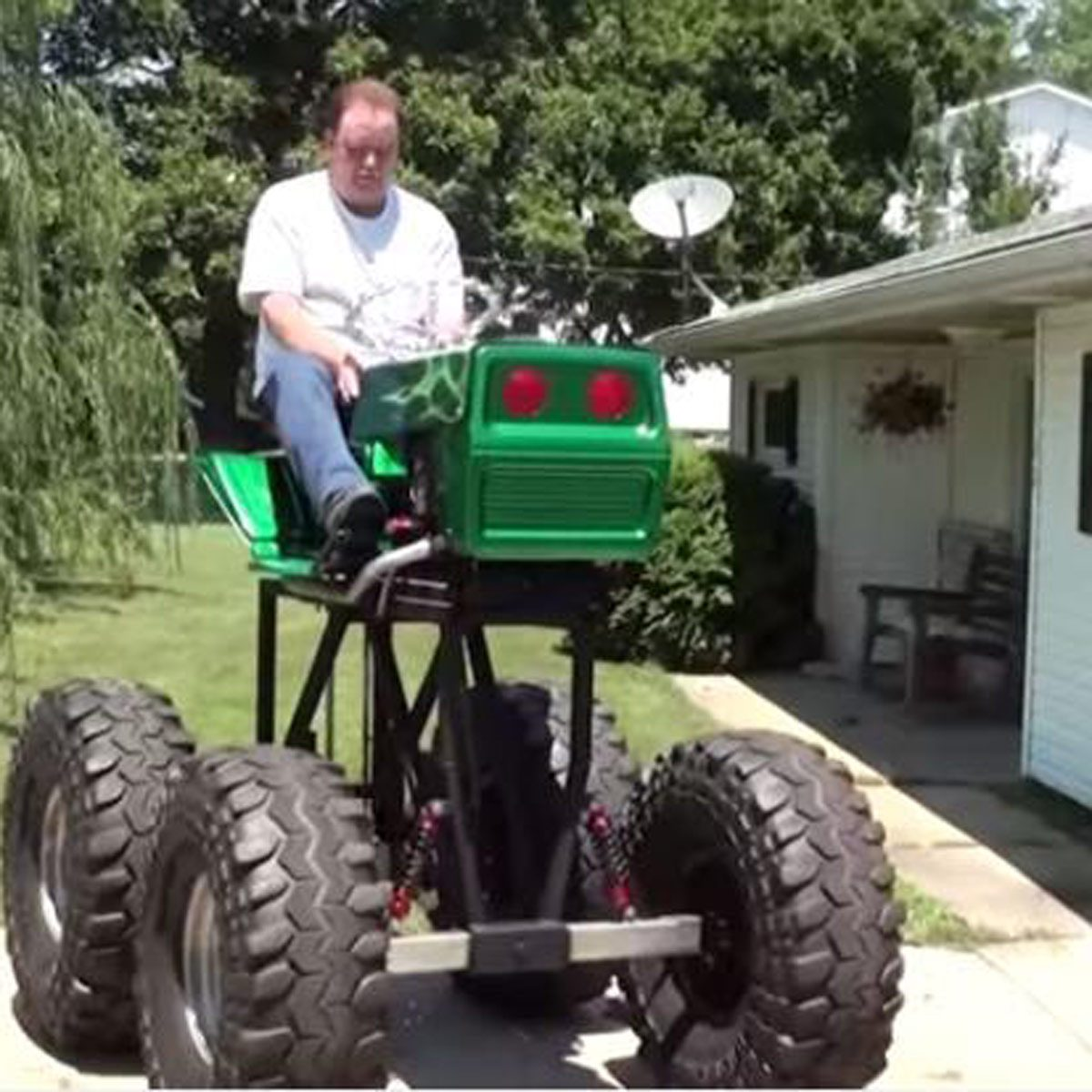 12 Tricked-Out Lawn Mowers | Family Handyman