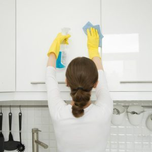 The Surefire Way to Clean Grease Off of Your Kitchen Cabinets