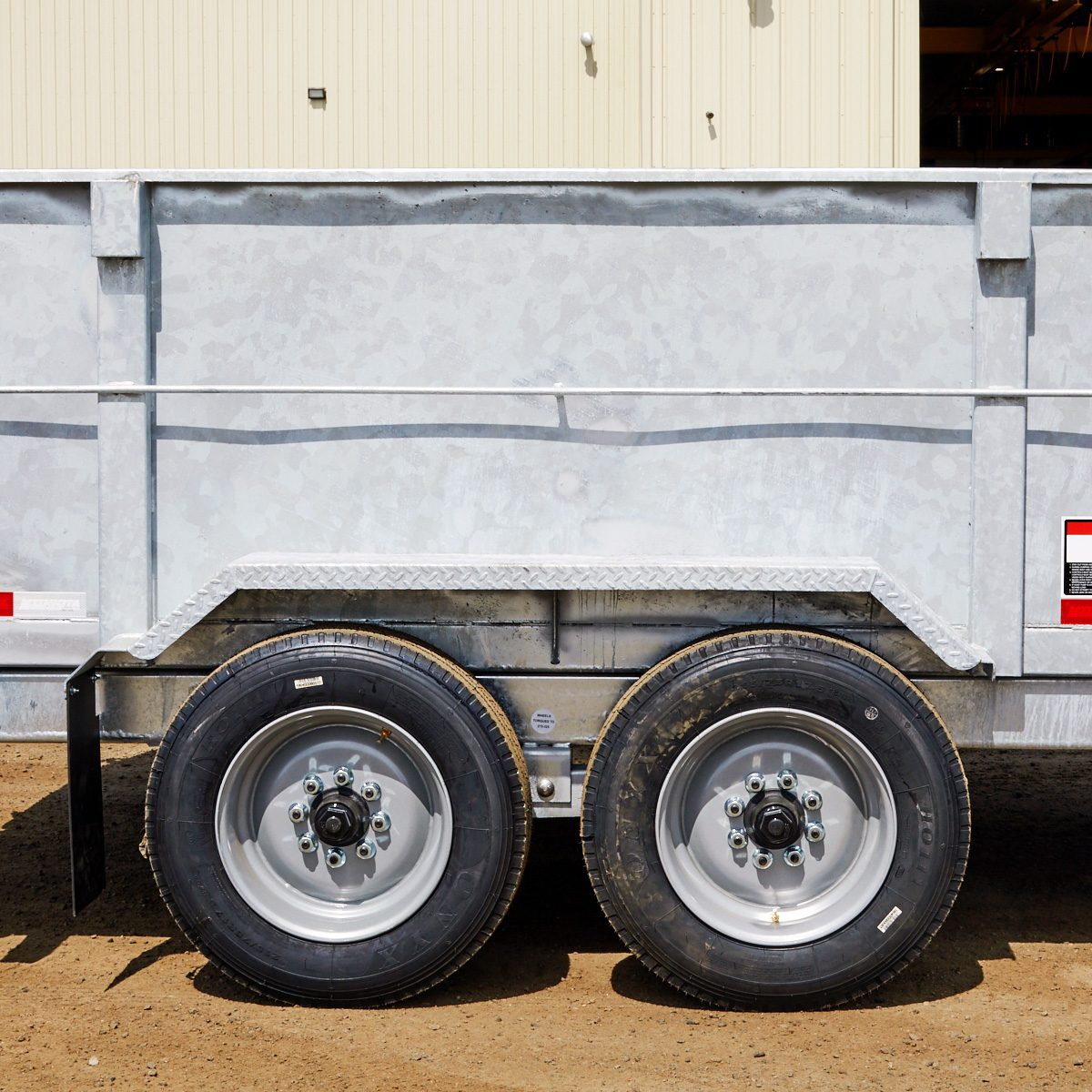 Tall galvanized trailer sides | Construction Pro Tips