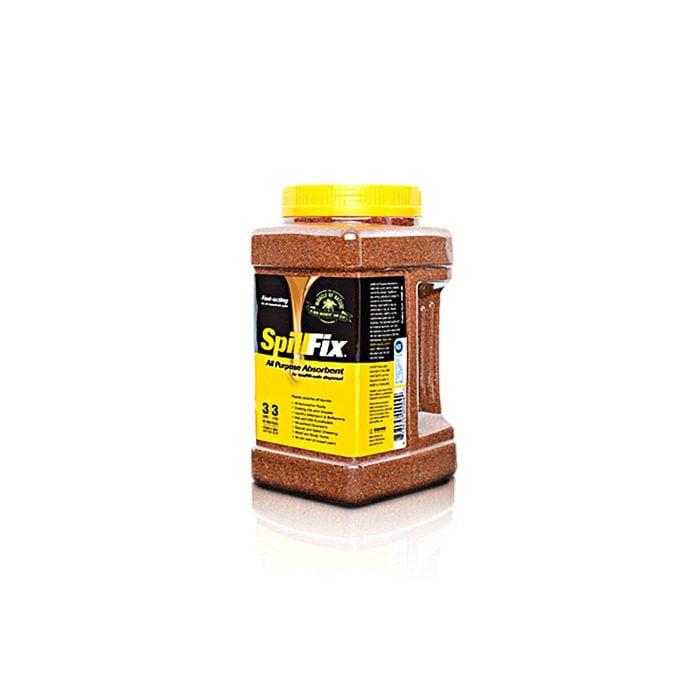 Bottle of Spill Fix compound   Construction Pro Tips