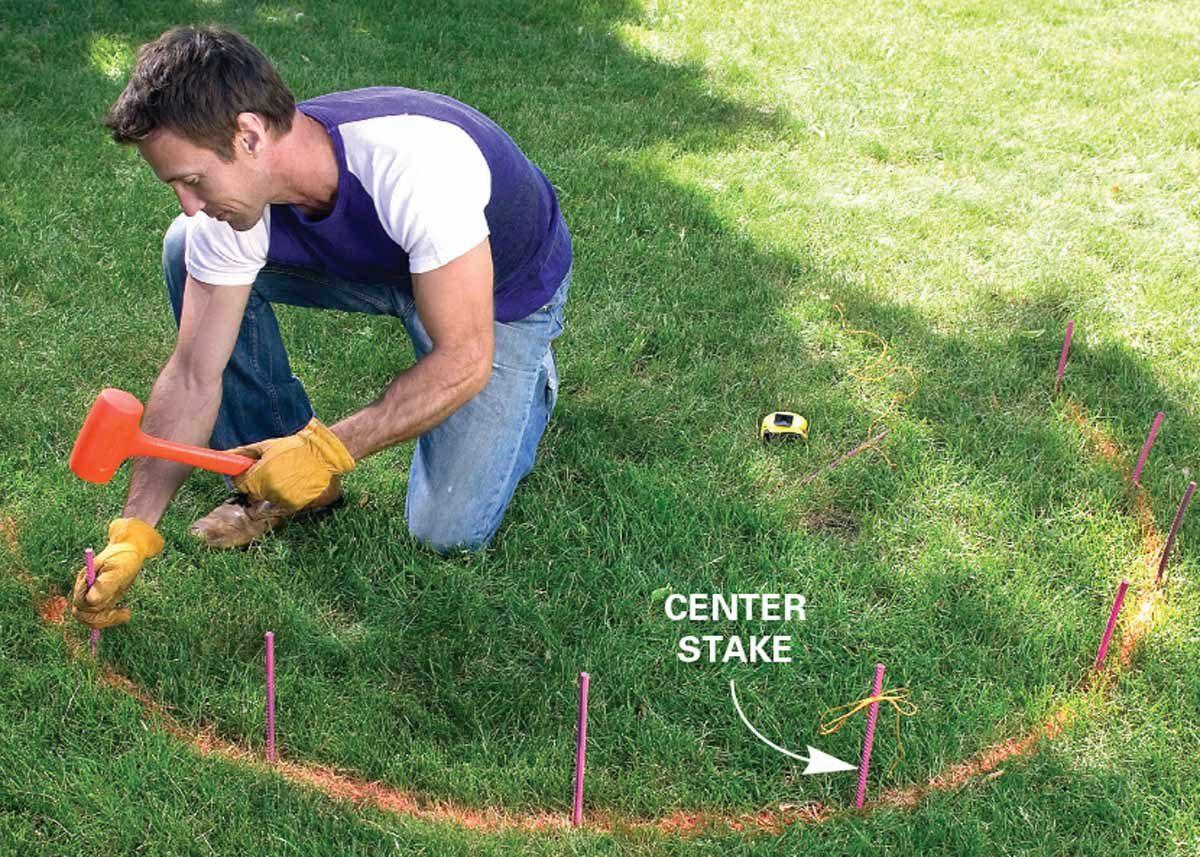 garden trellis stakes