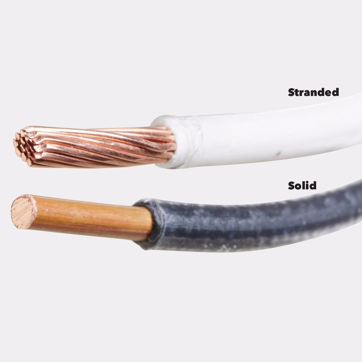Homeowner Electrical Cable Basics The Family Handyman Home Wiring And Projects Book Stranded Wire Vs Solid