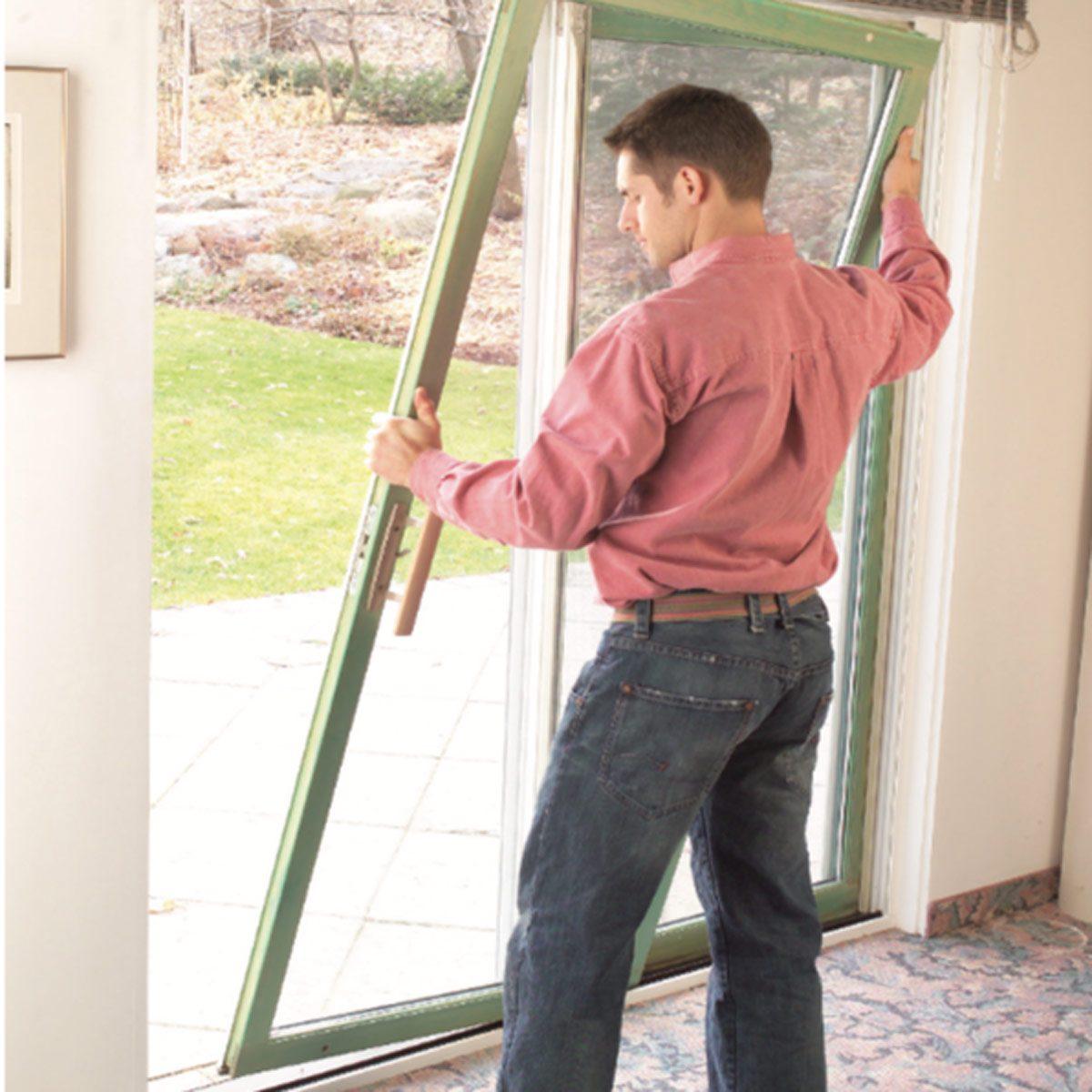 How To Repair A Sliding Door The Family Handyman