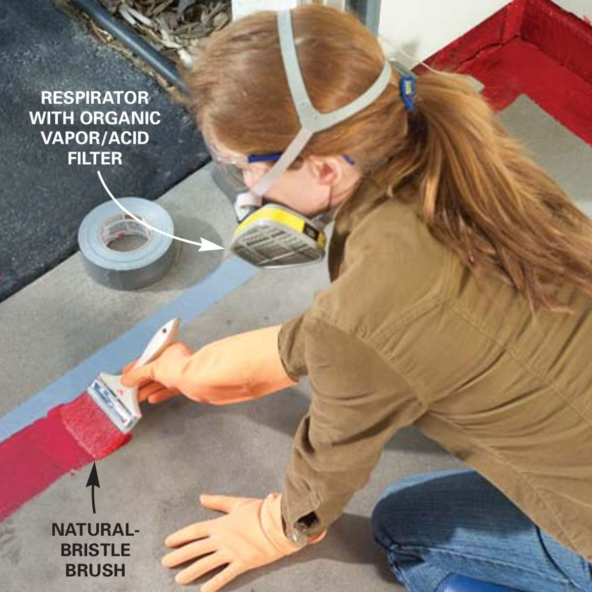 How to Apply Epoxy Flooring to Your Garage | Family Handyman