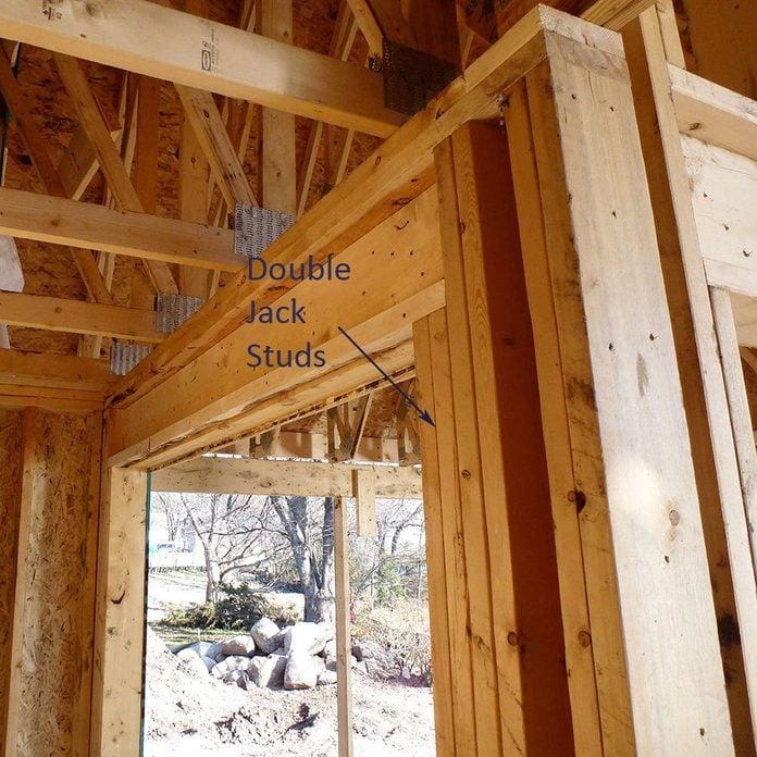 double jack studs framing windows