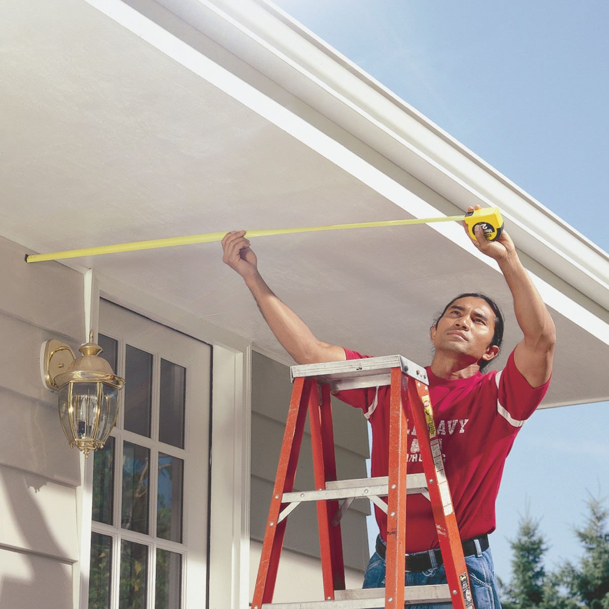 measure soffits