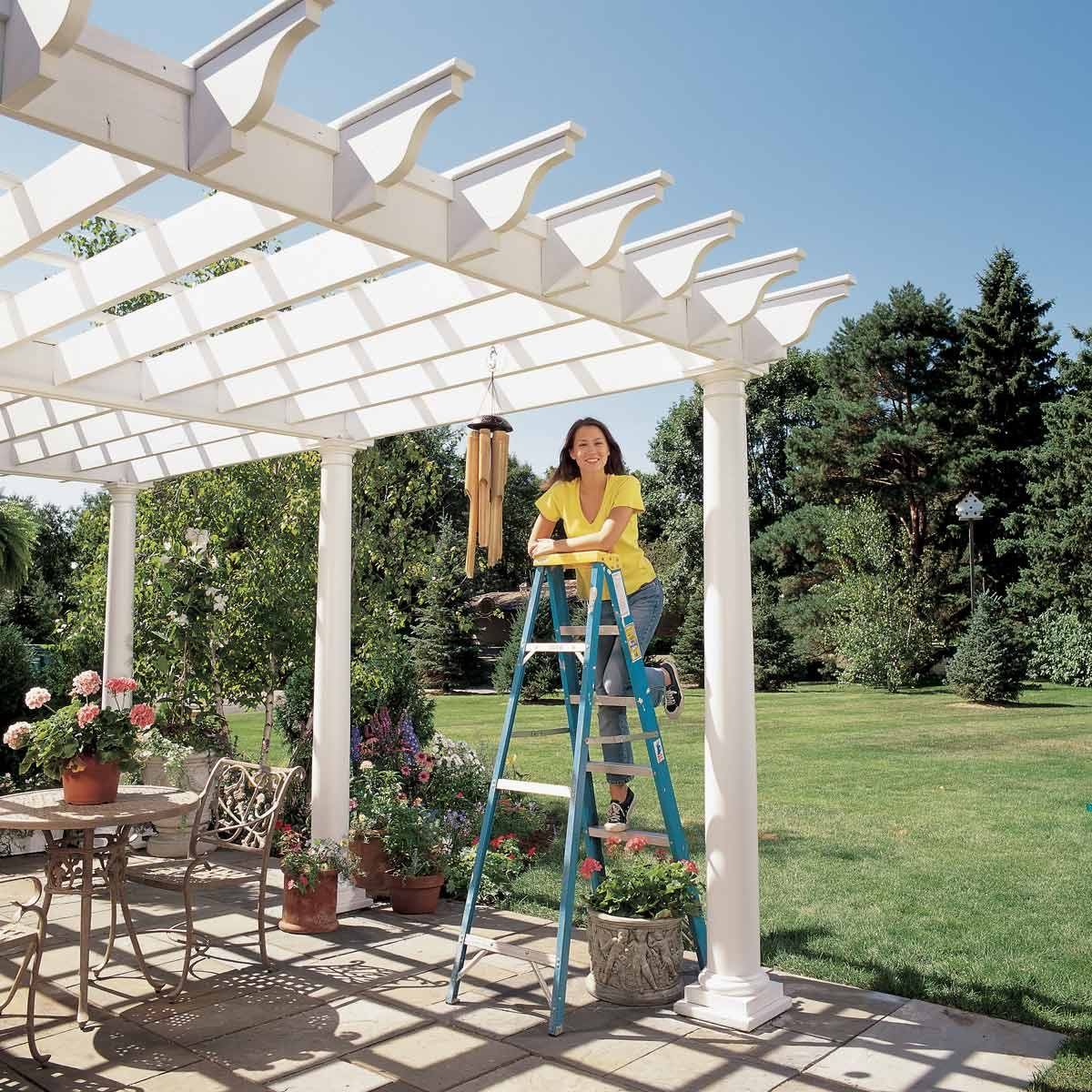 Pergola Design Builders: How To Build A Pergola: Pergola Plans