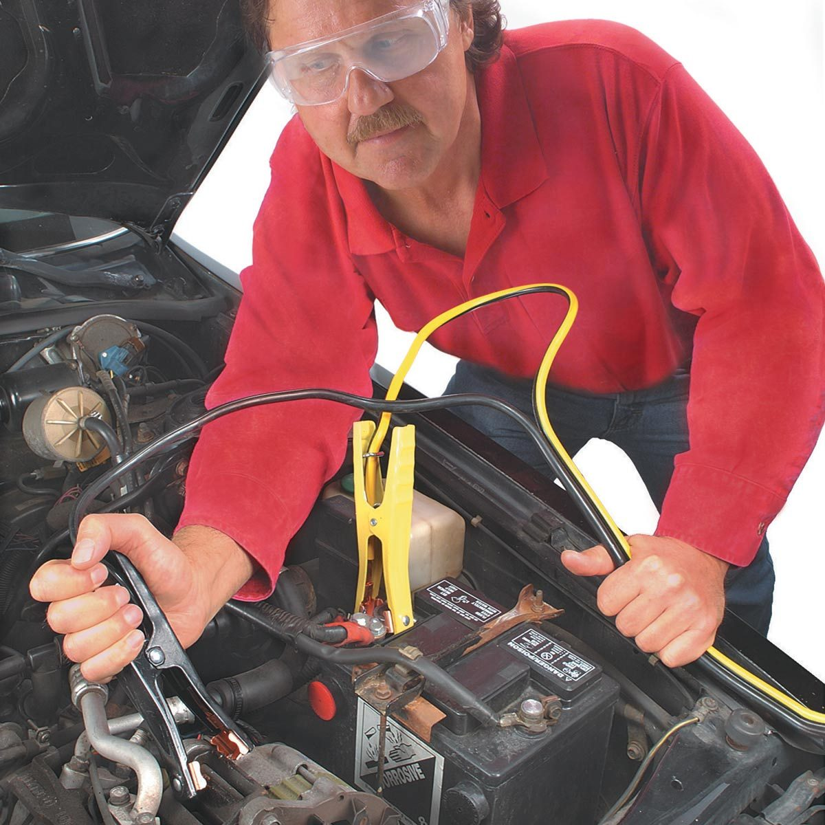 100 Super Simple Car Repairs You Dont Need To Go The Shop For Universal Furnace Ignition Kit Wiring Diagram Jump Start