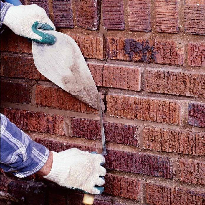 repair brick mortar joints