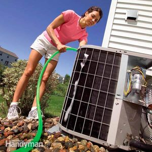How to Clean an AC Condenser