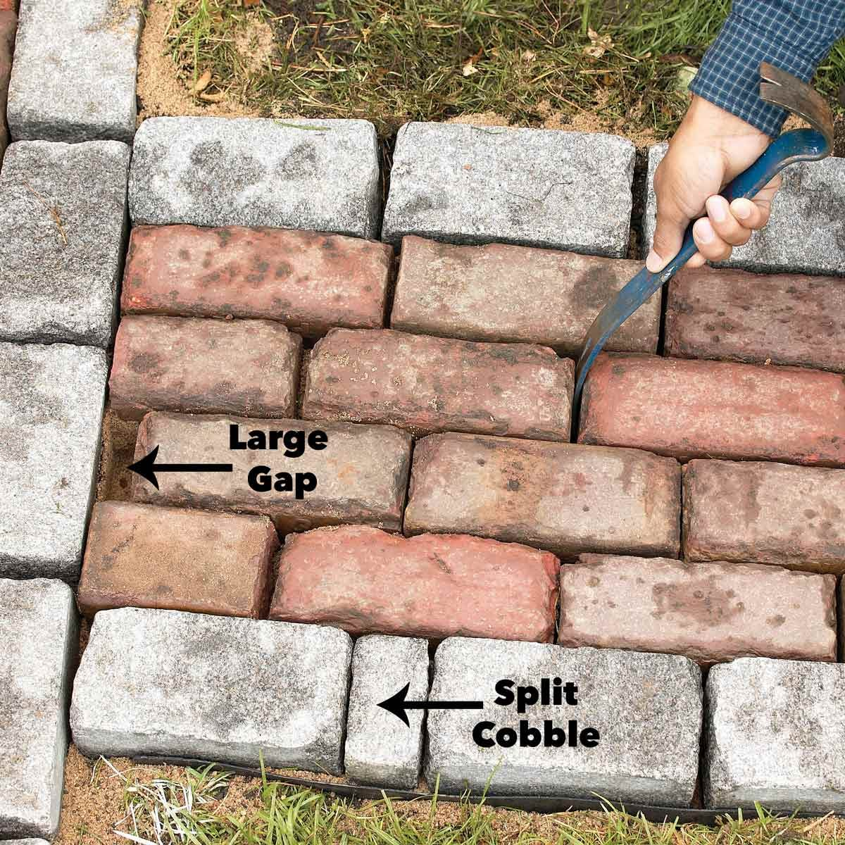 Build A Brick Pathway In The Garden | The Family Handyman