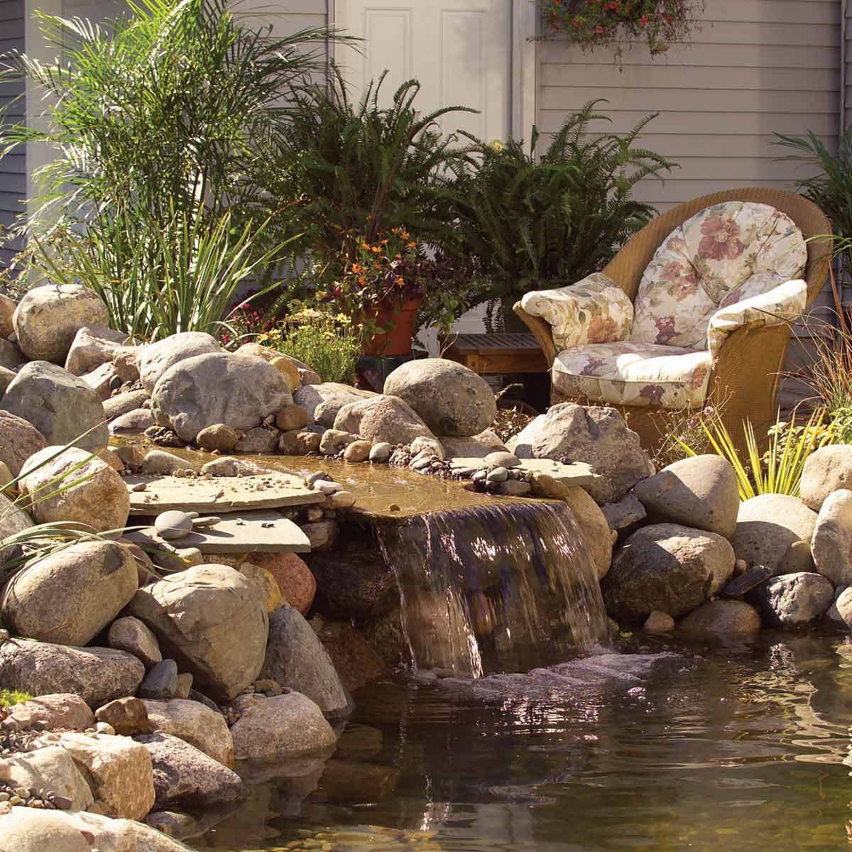 How To Build A Low Maintenance Pond Family Handyman