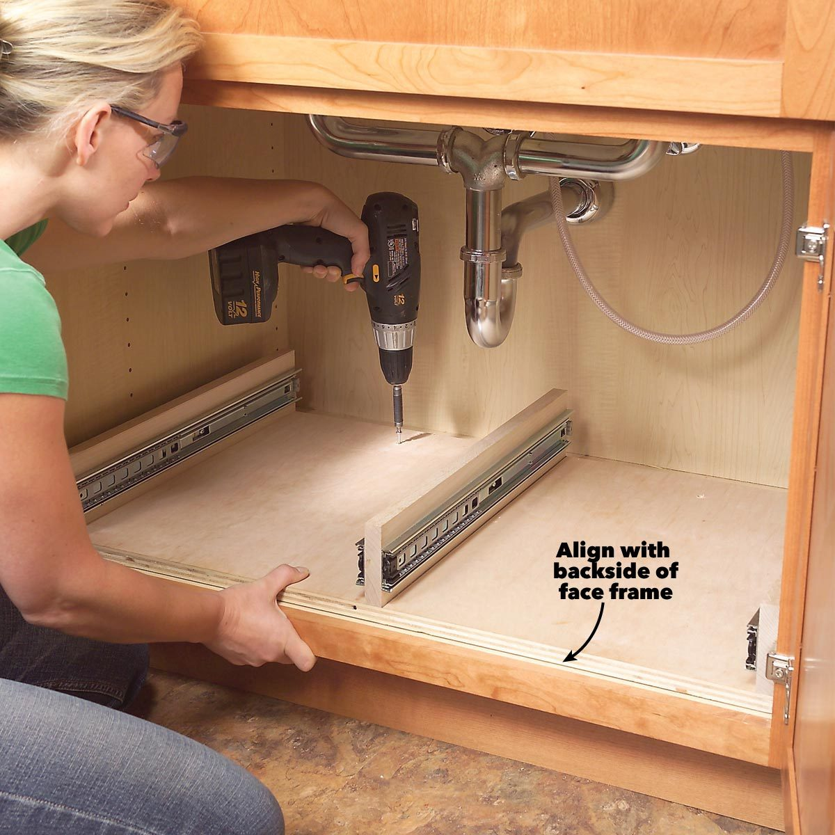 Kitchen Cabinet Storage Solutions Diy Pull Out Shelves