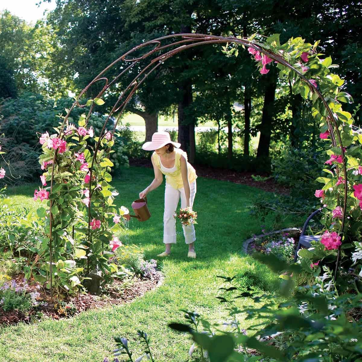 Build A Garden Archway The Family Handyman