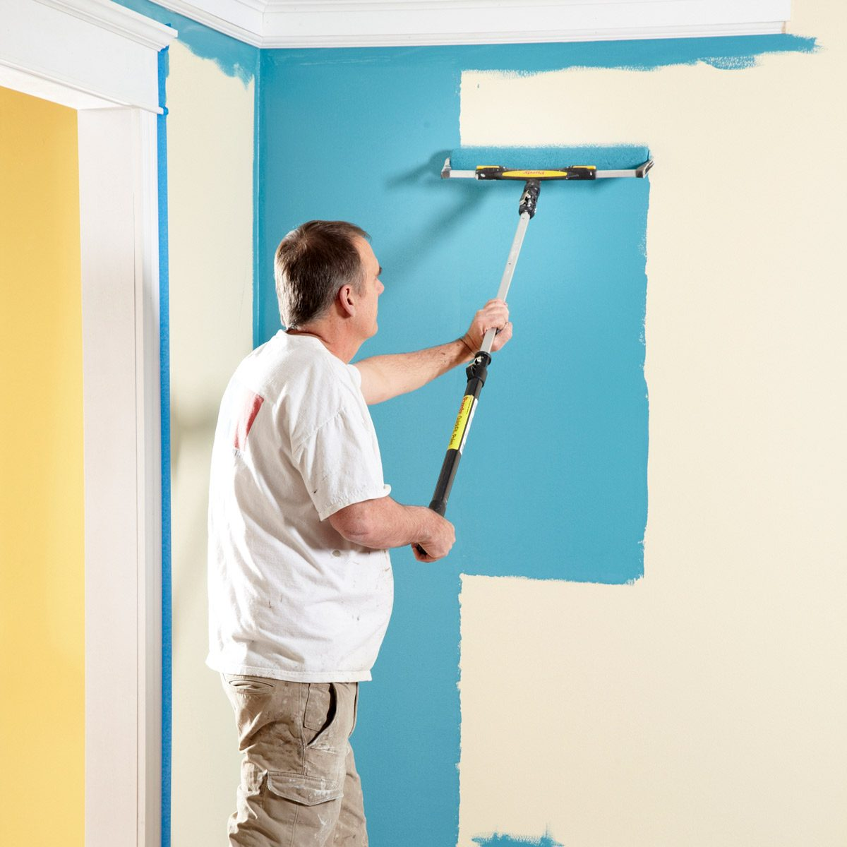 How To Paint A Room Fast Family Handyman