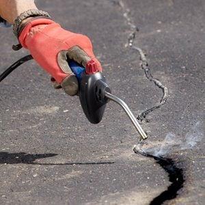 Asphalt Repair and Crack Filling