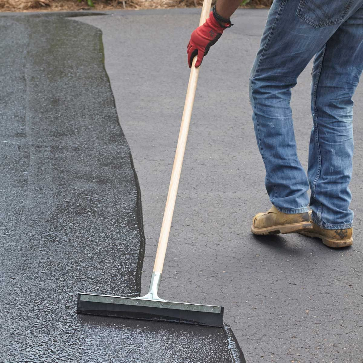 How to Seal an Asphalt Driveway | Family Handyman