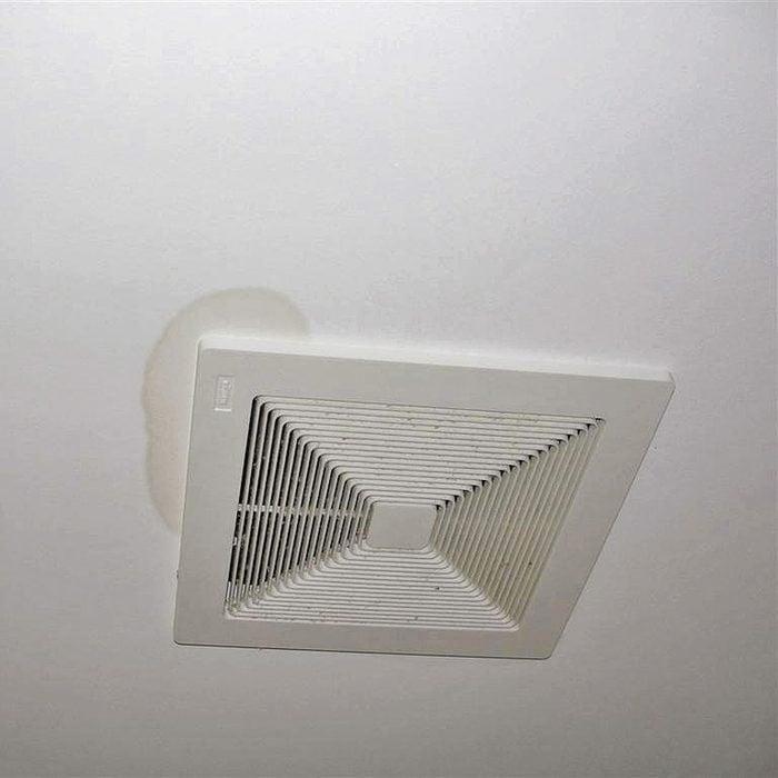Stains Around a Bath Fan?