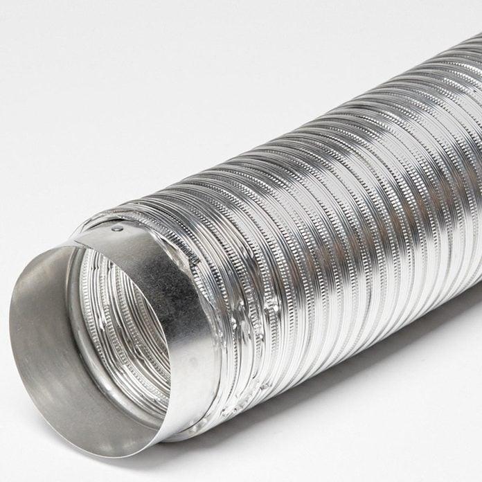 semi rigid metal dryer vent