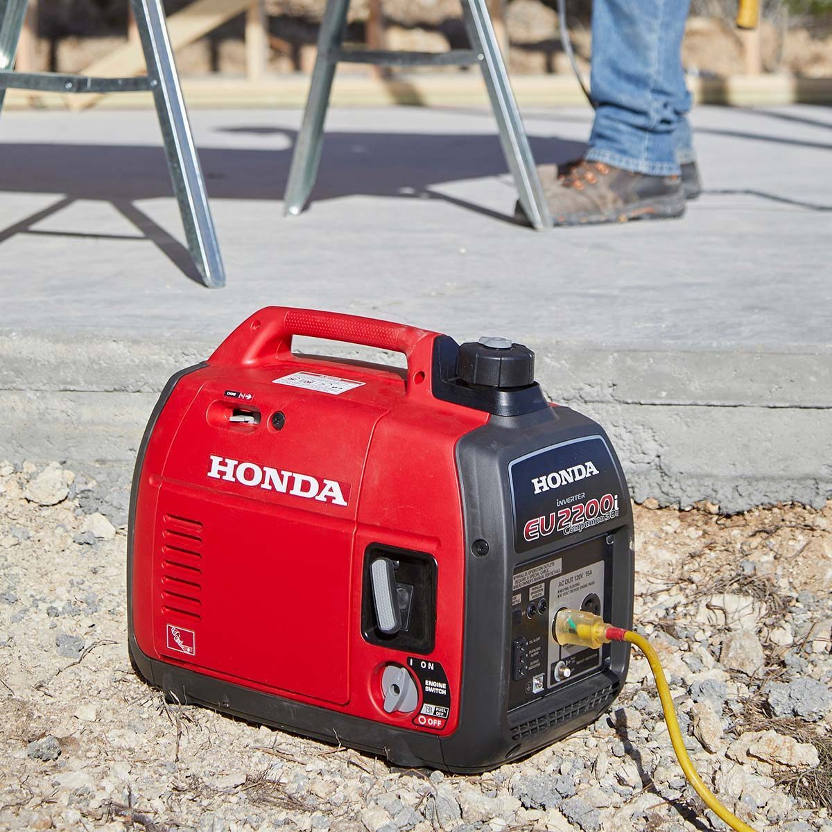 Game Day Shed The Family Handyman Would Like Info On Wiring A For Electricity I Need This Stood Long Way From Any Power Source So We Opted To Use Honda Eu2200i Inverter Generator All Our Electrical Needs Along With