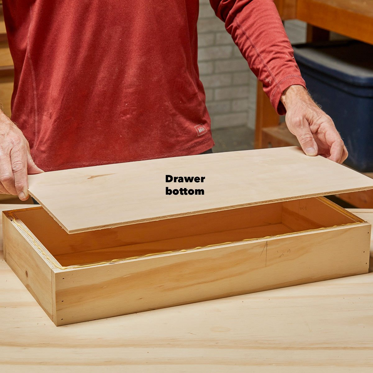 install drawer bottoms