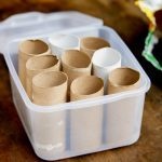 Frugal Gardening Tip: Grow Seedlings in Toilet Paper Tubes