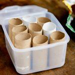 Frugal Gardening Tip: Grow Seedlings in Toilet Paper Tubes