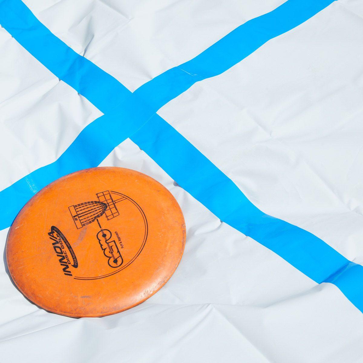 how to make frisbee tic-tac-toe | the family handyman