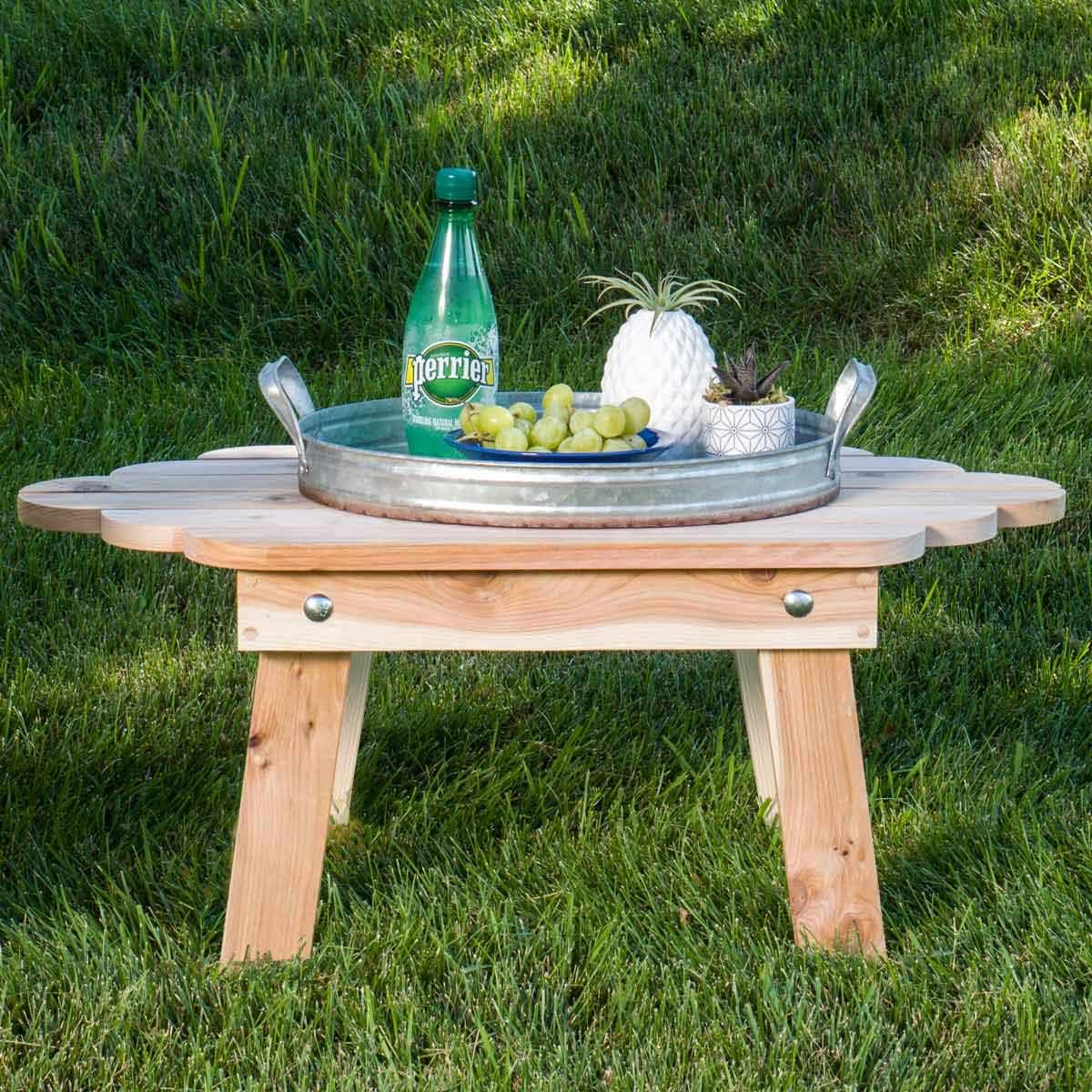 Folding Adirondack Table Featured