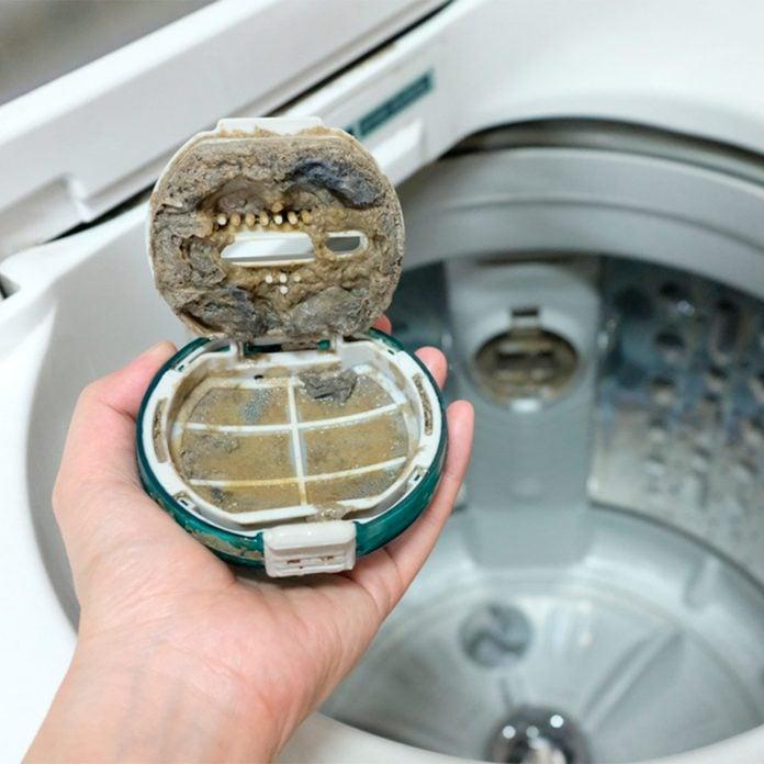 clean a washing machine