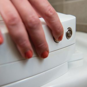 SpinX Self-Cleaning Toilet