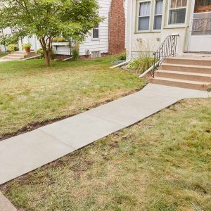 Resurfacing a Sidewalk is Easy to DIY