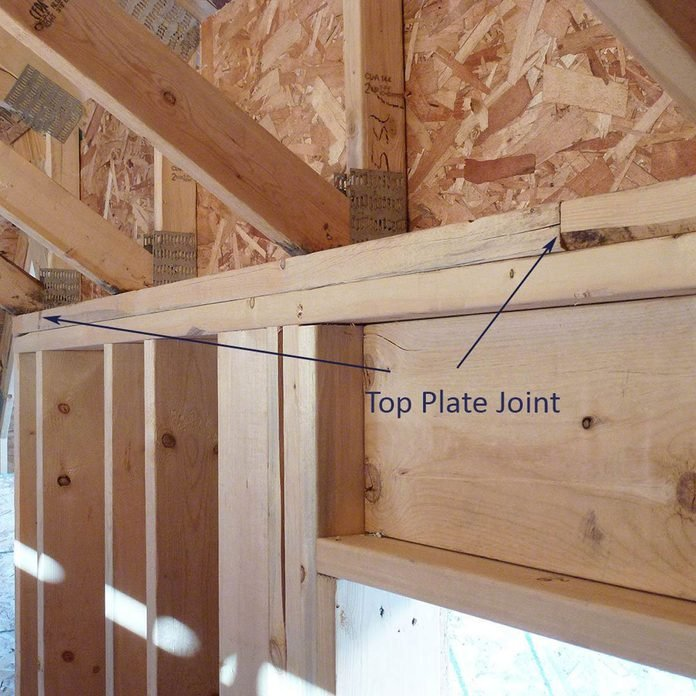 top plate joints framing