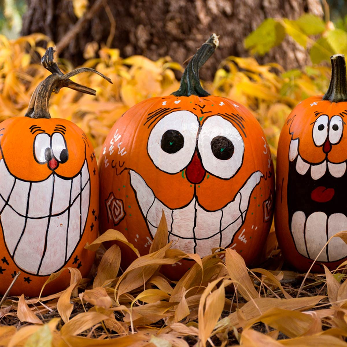 16 Crazy Painted Pumpkins You Need To See
