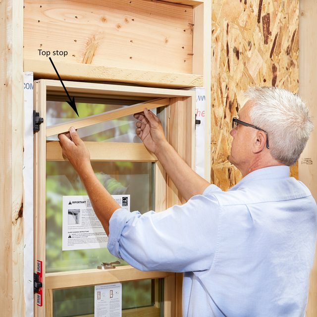 Expert straightening the jambs of a window | Construction Pro Tips