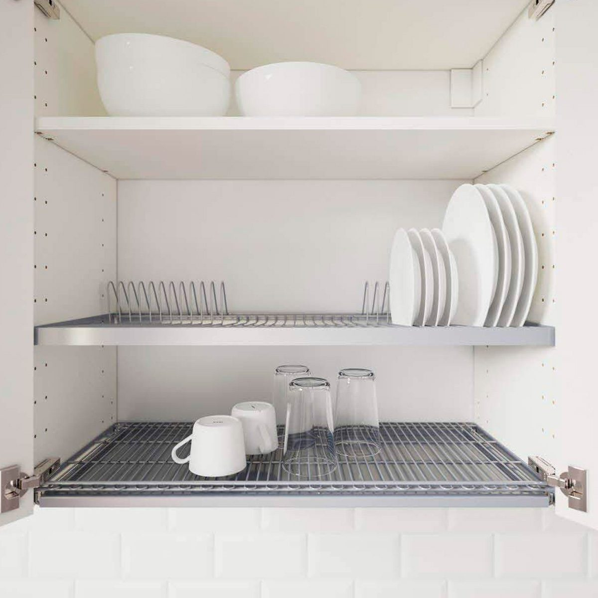 Dish Drying Rack For Wall Cabinet