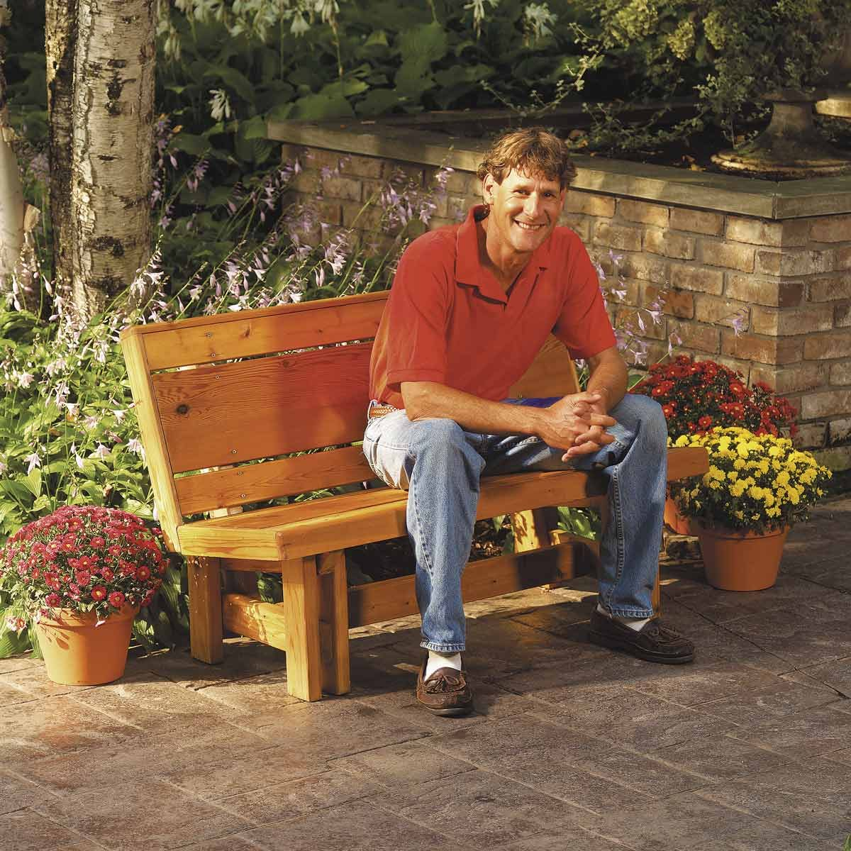 How to Build a Comfortable Outdoor Cedar Bench