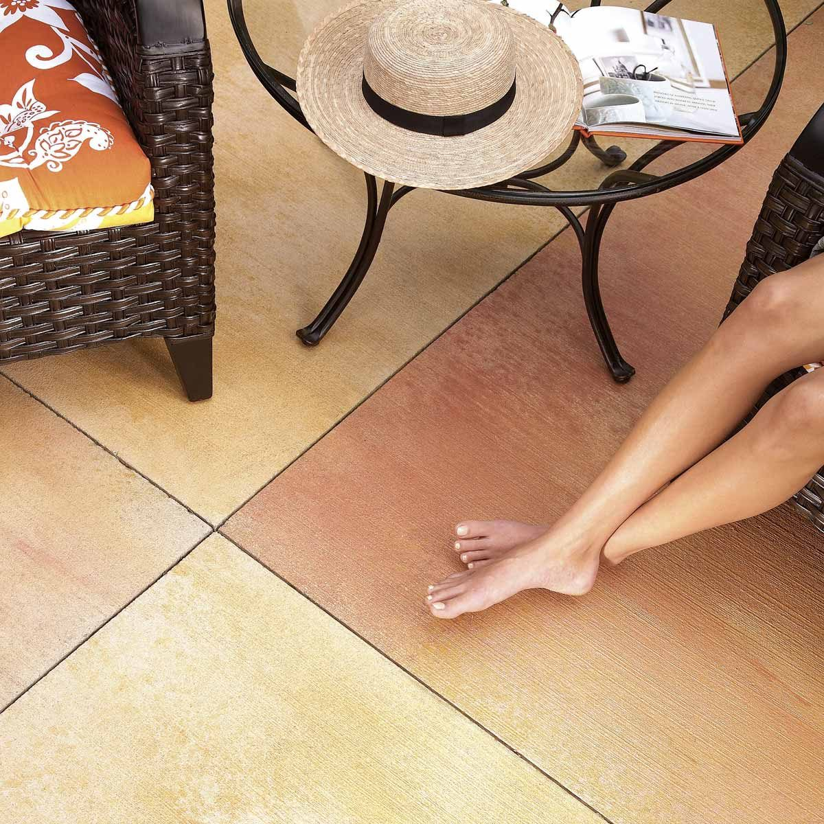 Renew Your Concrete Patio How To Stain