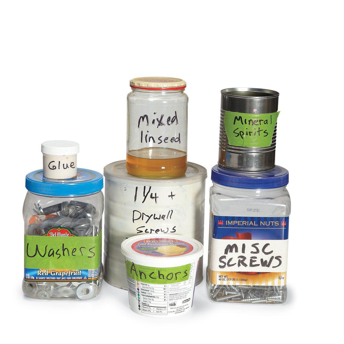 Hardware 1//4 ounce Glass Jars 2 Pk Child Resistant Lids Craft Medicinal Herbs