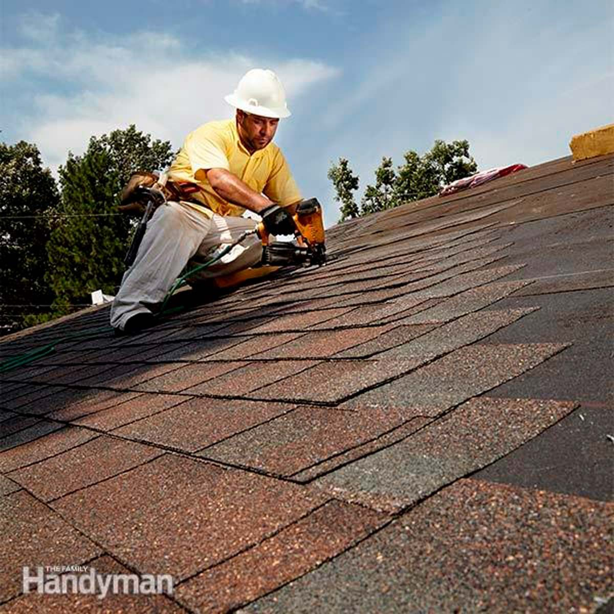 How To Roof A House Family Handyman