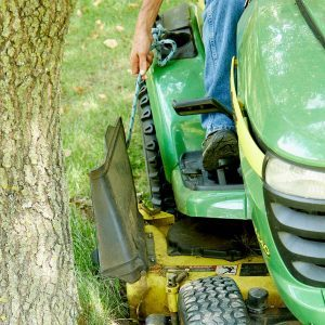 Lawn Mower Grass Chute Saver