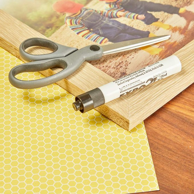 HH handy hint picture frame message board