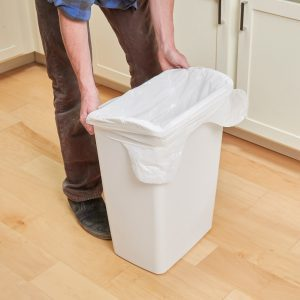 Why You Should Drill Holes in Your Trash Can