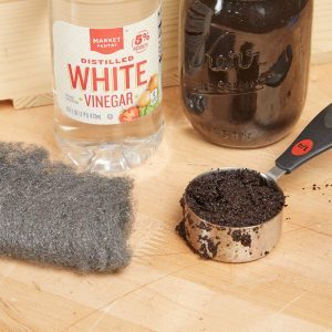 how to stain unfinished wood