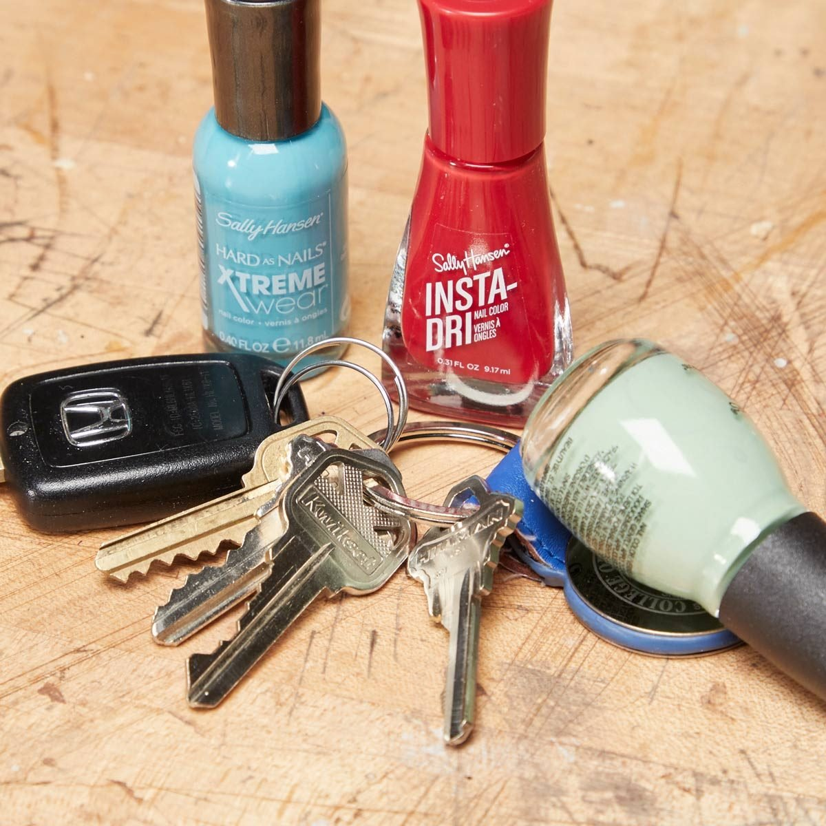 The Easiest Way to Color-Code Your Keys | The Family Handyman