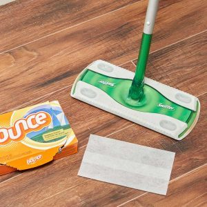 Dryer Sheet Floor Sweeper