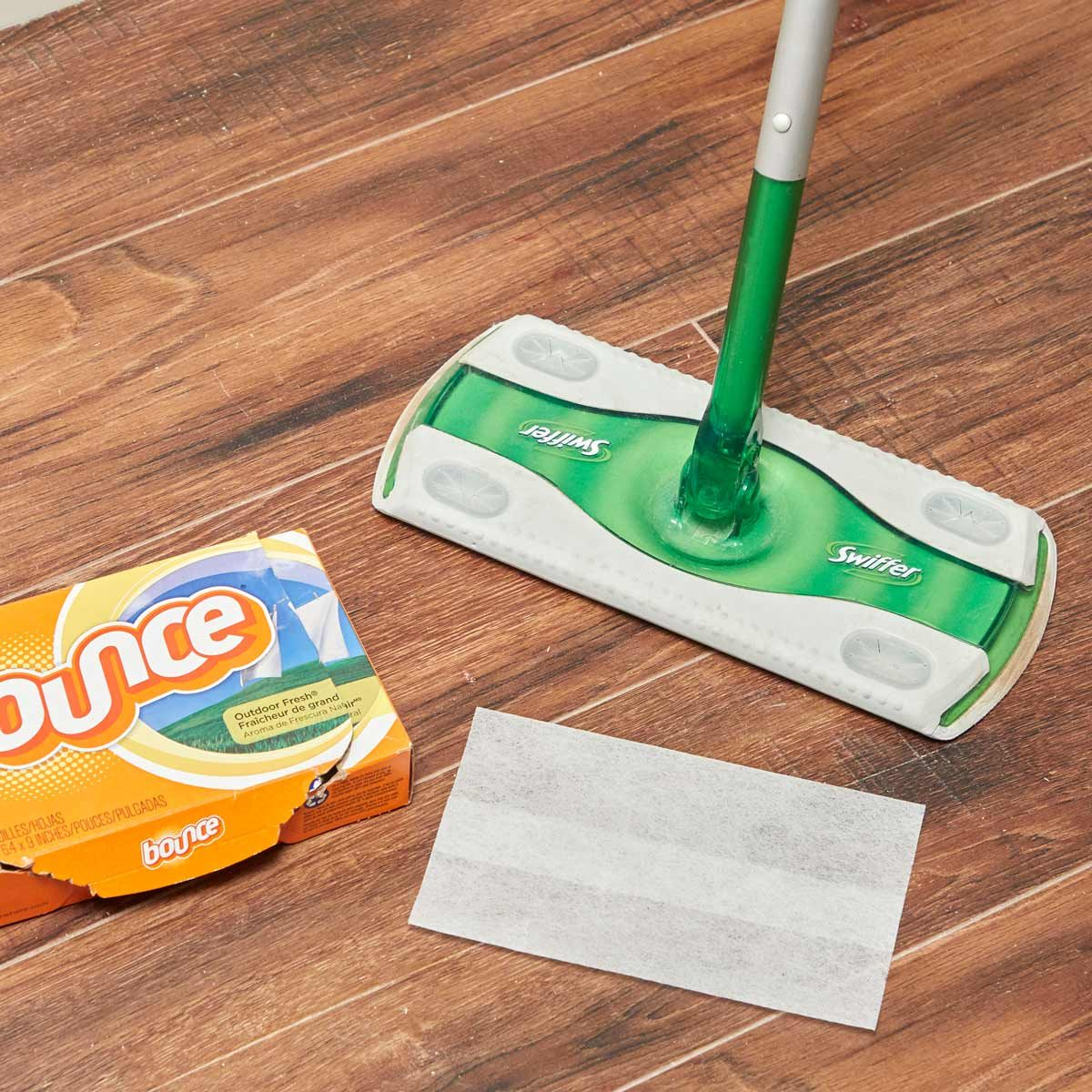 HH Handy hint swiffer floor sweeper dryer sheets