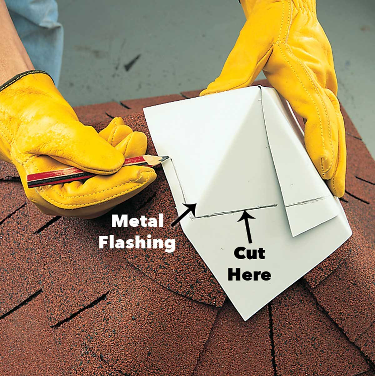 Cap the roof with flashing cupola