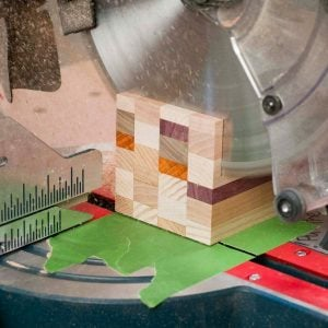 Tape Tip for Your Miter Saw