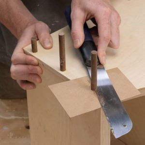Cardboard Surface Saver for Woodworking Projects